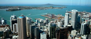 Waitemata Harbour from the SkyTower