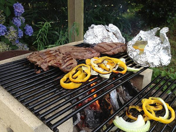 Dinnertime in New Zealand